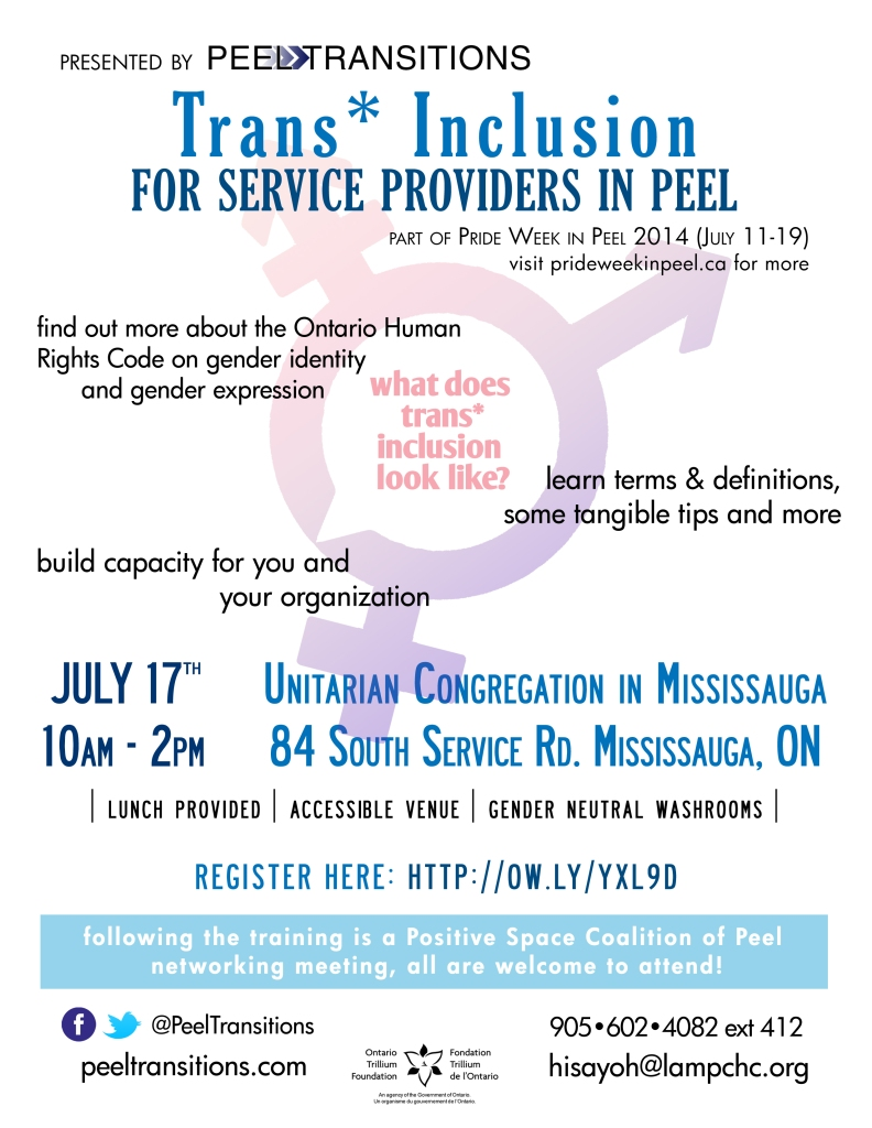 Trans Inclusion Flyer